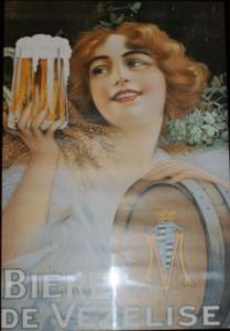 Affiche de la bière de Vézelise