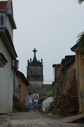 Église de l'ancien village de Dong Lam