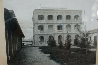 La maison de Yersin à Xόm Cόn