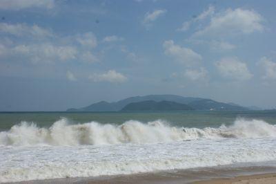 La plage côté mer