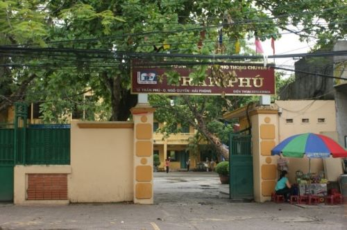 Le plus célèbre lycée de Haiphong