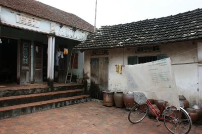 Maison traditionnelle de l'ethnie viet