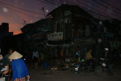 Marché de nuit à Nha Trang, 2013