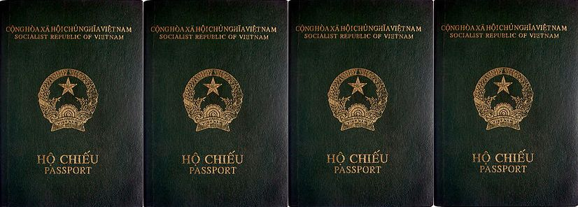 Passeports vietnamiens