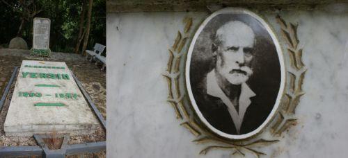 Tombe de Yersin
