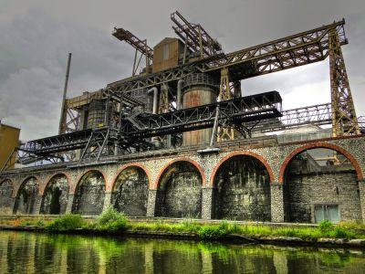 L'usine Solvay - 1873