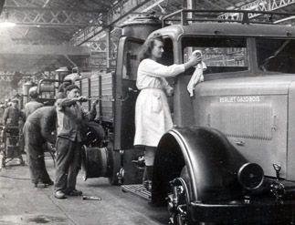 Usine Berliet à Vénissieux en 1944