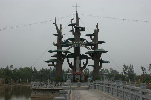Vierge à l'enfant à Thanh Hoa