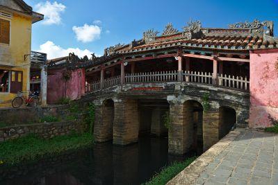 Le vieux pont japonais de Hoai An