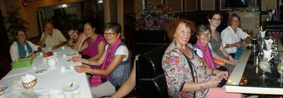 Canh Linh et Thuy en rose, non Préfassiennes mais amies très chères