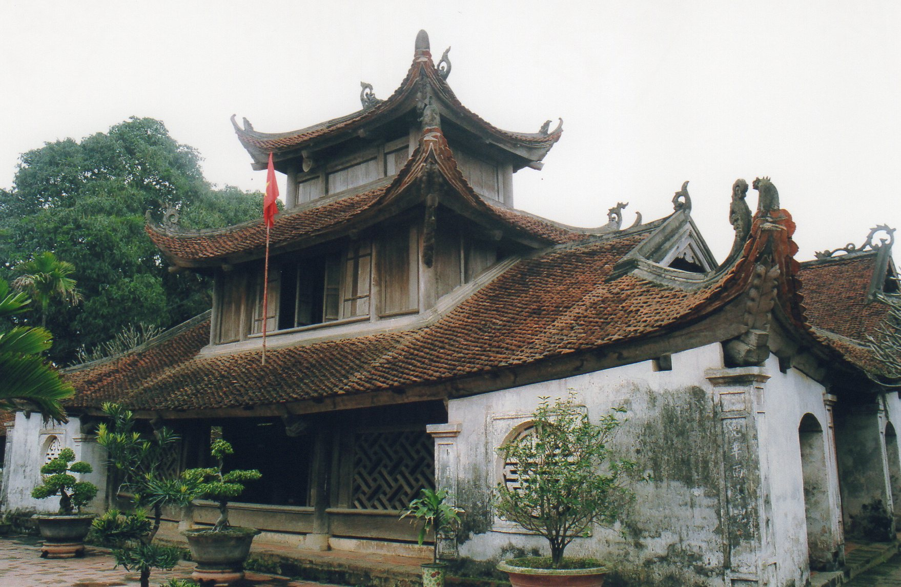 La pagode Chau Dau, très harmonieuse
