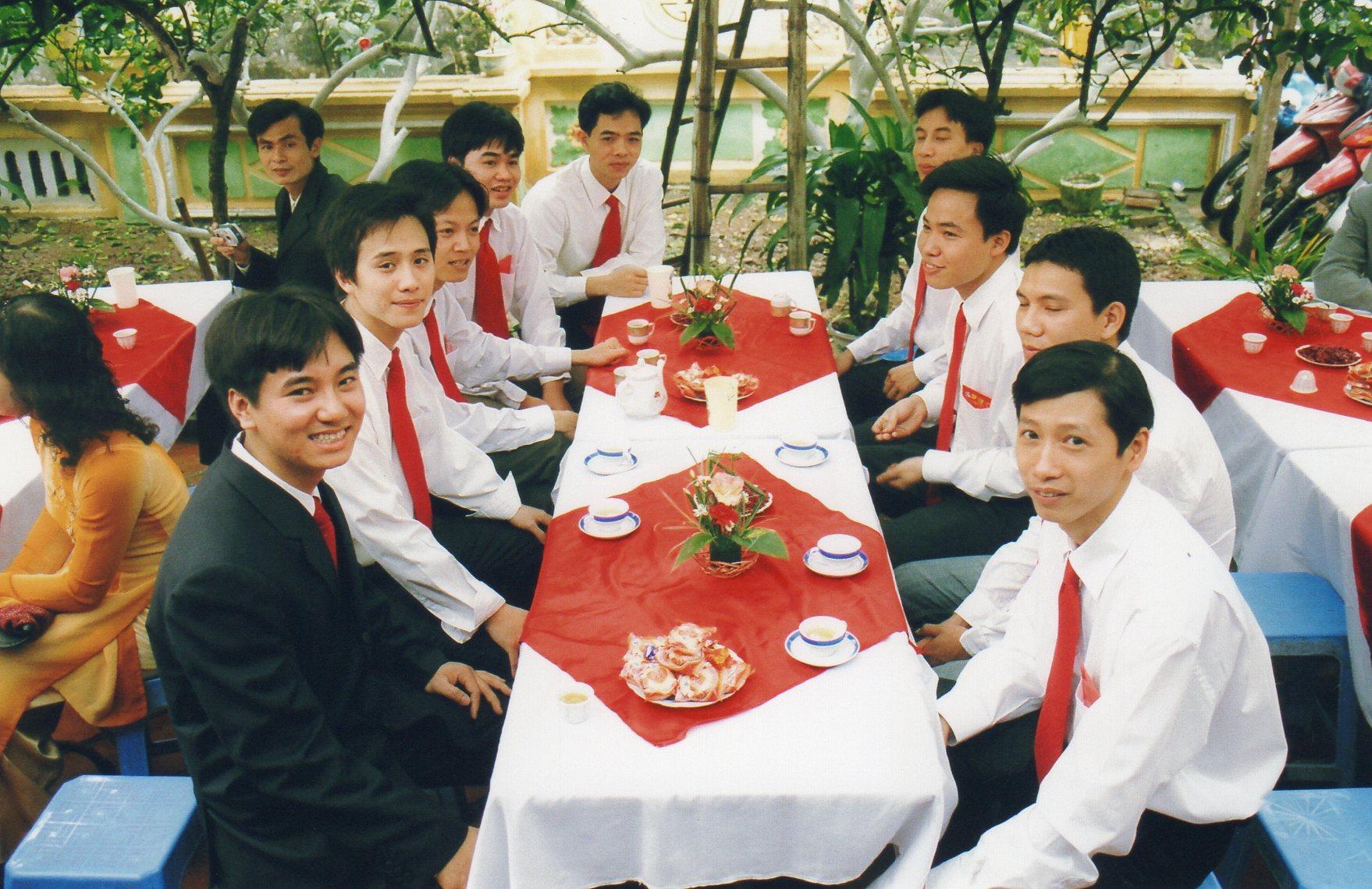 Mariage de Diep avec Quang