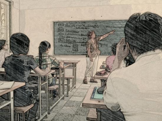 Photo retravaillée par une étudiante