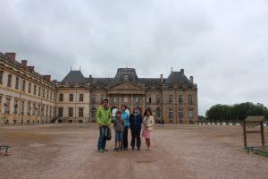 Au château de Lunéville