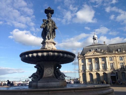 La fontaine des 3 Grâces