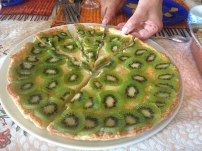 La tarte aux kiwis
