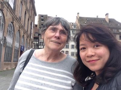 Marie-Ange et Ngoc Lan