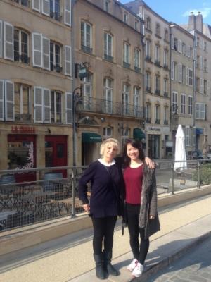 Marie-Jeanne et Ngoc Lan