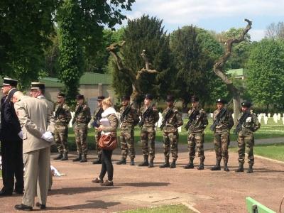 Metz, hommage aux soldats russes morts au champ d'honneur