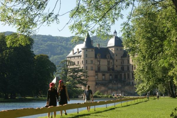 Le parc et le château de Vizille