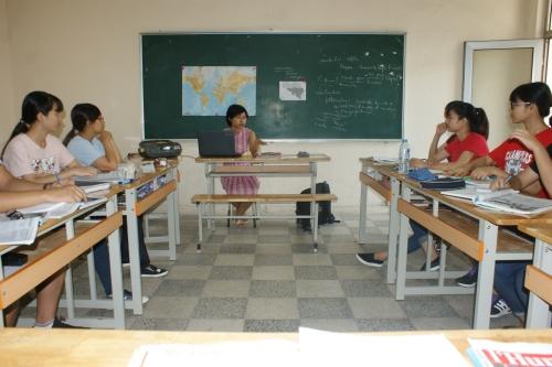 Anh Tu - Préfassienne 2015- dans la classe de 2ème année F2, vendredi matin