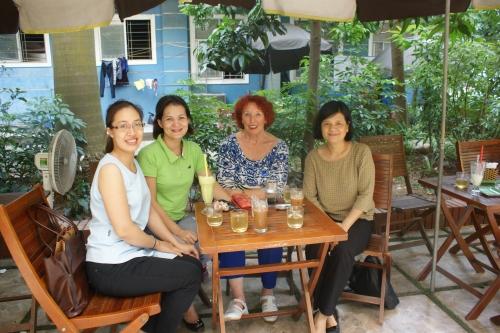 Séances de travail avec Hoai Anh et Phuong Lan sur leur thèse, mardi et mercredi après-midi