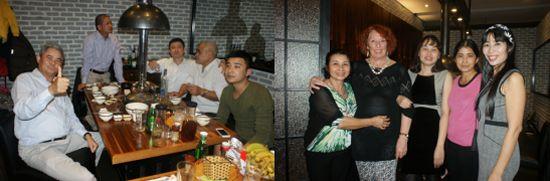 Mardi 6 décembre, dîner avec la famille de Hoai