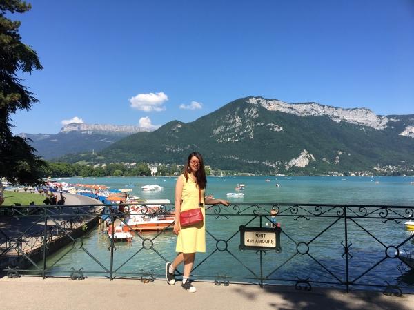 Annecy, sur le pont des Amours !