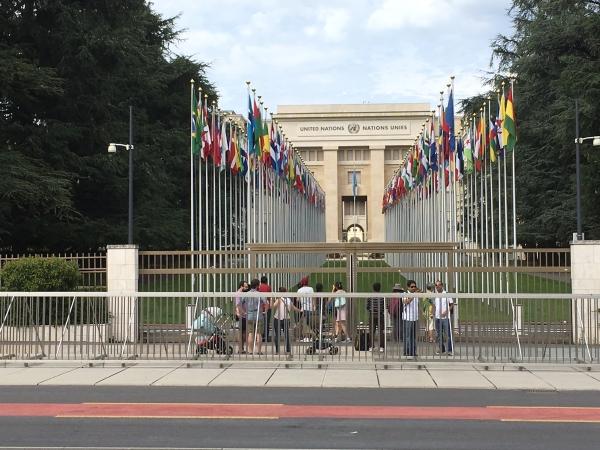 Genève, le siège de l'ONU