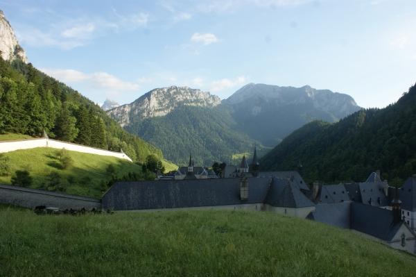 Le monastère, au cœur de la Chartreuse