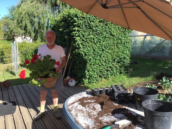 Jardinage à Saulxures-les-Nancy