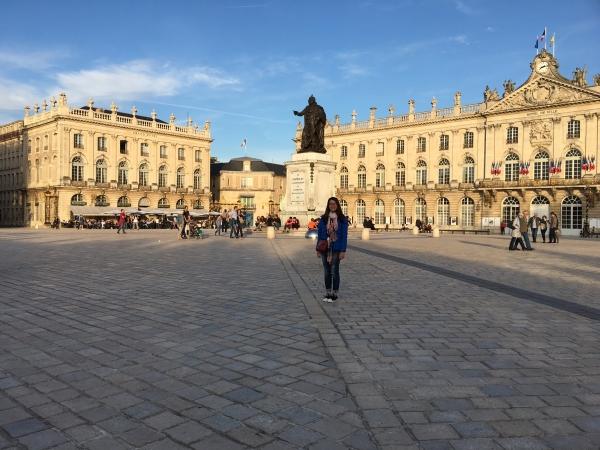 La célèbre place Stanislas