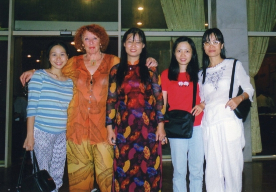 Invitées au mariage - Viet Anh , Oanh, Kim et Kim Hoa