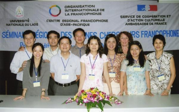 L'équipe de l'Université nationale de Hanoi