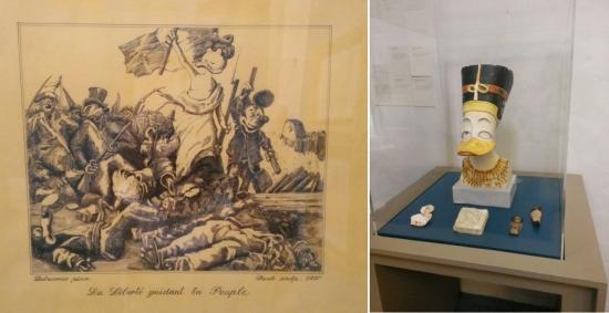 La Liberté guidant le peuple de Delacroix - Néfertiti