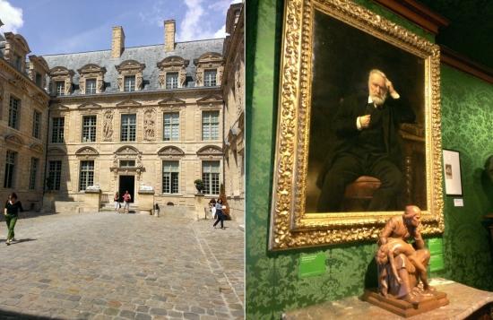 L'Hôtel de Sully dans le Marais! La maison de Victor Hugo