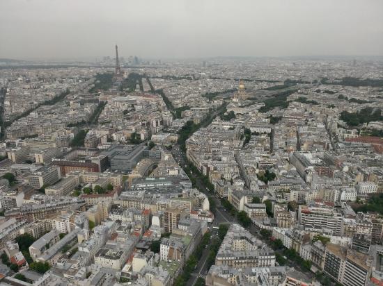 Paris, vu de la butte Montmartre