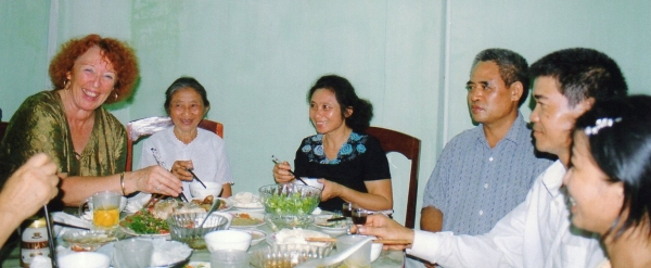 Bac Giang - Joyeuse ambiance lors du banquet