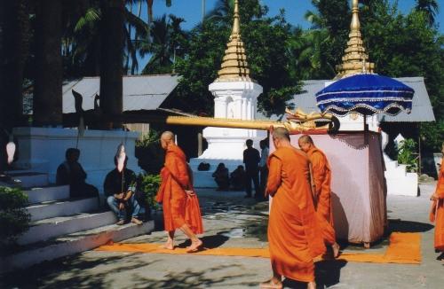 Laos - Cérémonie de purification