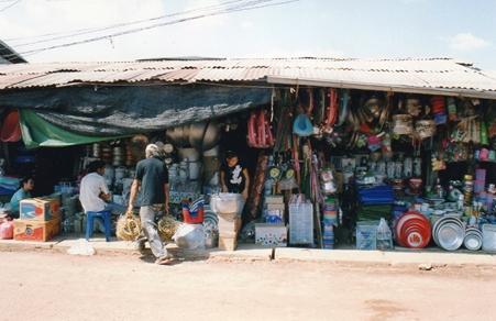 Laos - Commerces