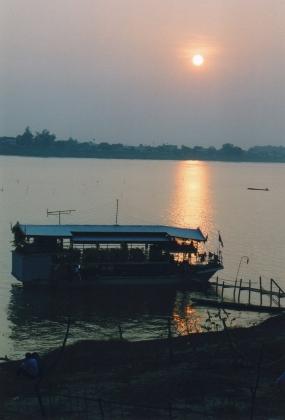 Laos - Coucher de soleil