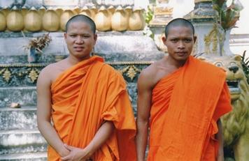 Laos - Jeunes bonzes