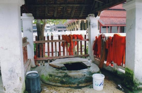 Laos - La lessive sèche