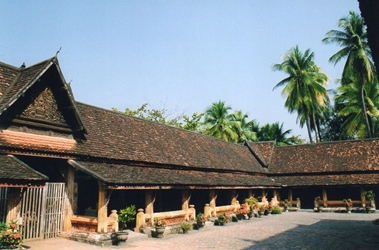 Laos - Le Cloitre