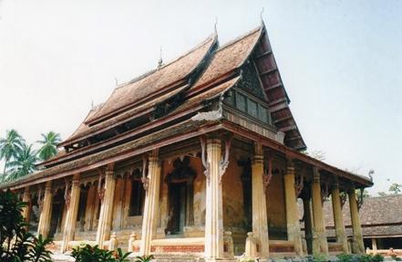 Laos - Le sim du Vat Si Saket