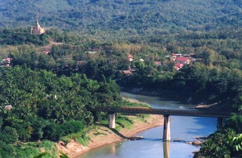 Laos - Paysage côté Nam Khan