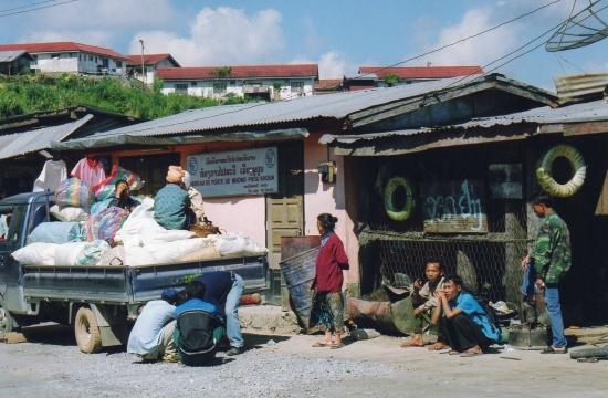Laos - Sur la route de Luang Prabang