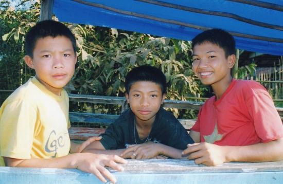 Laos - compagnons