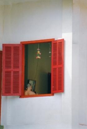 Laos - Fenêtre