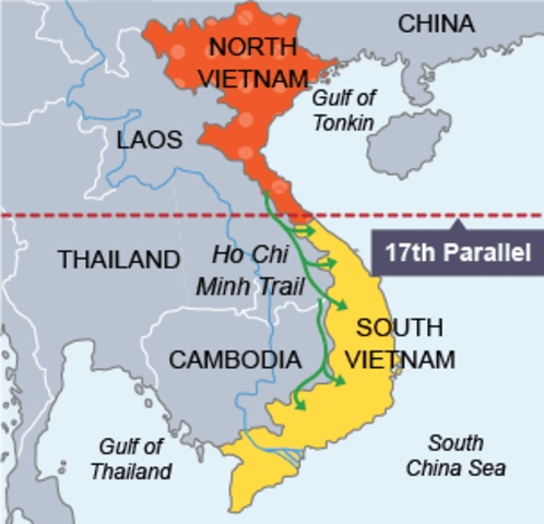 Loin du Vietnam - carte